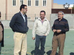 Silvestre Castells junto al Director del Centro