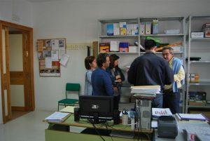El PP El Cuervo reunido con la Dirección del Centro
