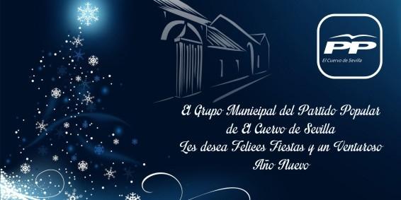 Felicitacion Navideña PP El Cuervo