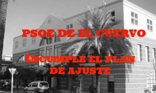 El PP denuncia que el Gobierno del PSOE incumple el Plan de Ajuste a pesar de los avisos del Interventor