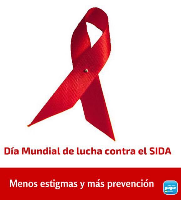 Manifiesto del PP en el Día Mundial de la Lucha contra el SIDA