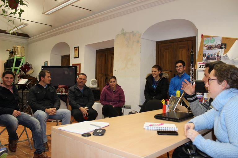 El Candidato Oliva se reúne con la Asociación Cultural Banda de Música Ntra. Sra. del Rosario
