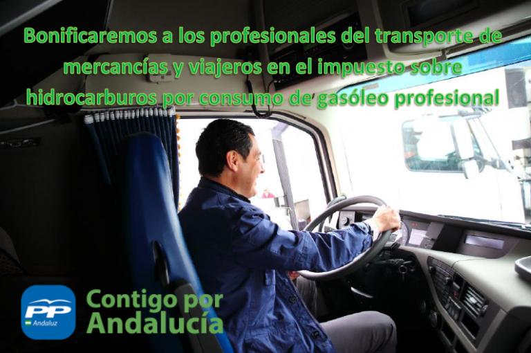 Juanma Moreno se compromete a bonificar el tramo autonómico del Impuesto de Hidrocarburos