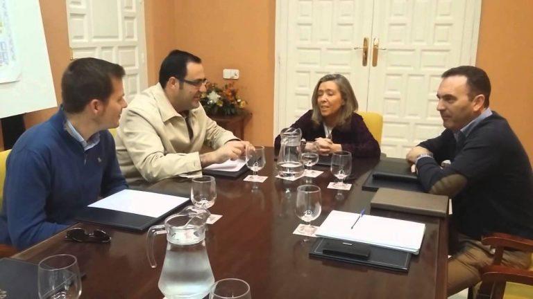 El PP se reúne con la Subdelegada del Gobierno