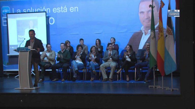 El PP presenta su candidatura al Ayuntamiento de El Cuervo