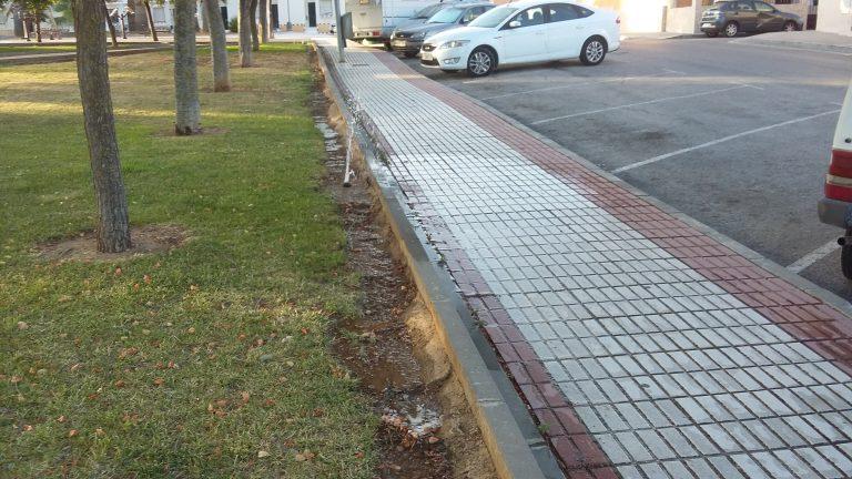 El PP solicita la reparación del sistema de riego del Parque Rafael Alberti