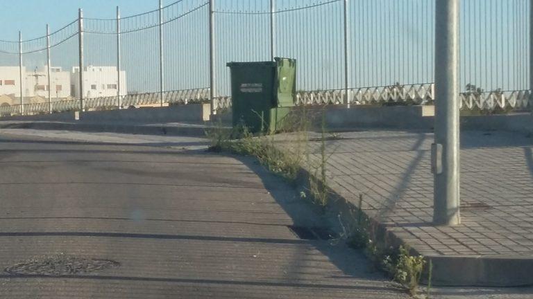 La zona del PP-5 Carretera de Lebrija presenta estado de abandono y el PP pide de forma urgente su limpieza