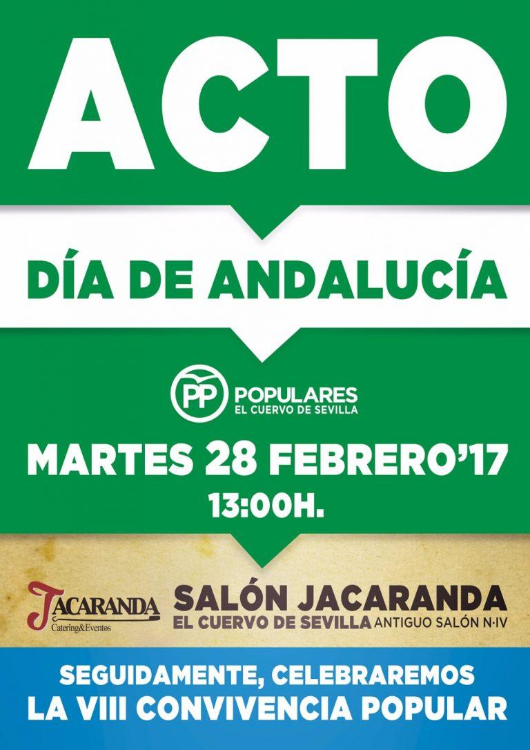 El PP de El Cuervo celebra el día de Andalucía