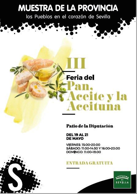 El PP lamenta que la Delegada de Desarrollo no potencia nuestro producto estrella en la Feria del Pan, Aceite y Aceituna celebrado la pasada semana en la Diputación de Sevilla