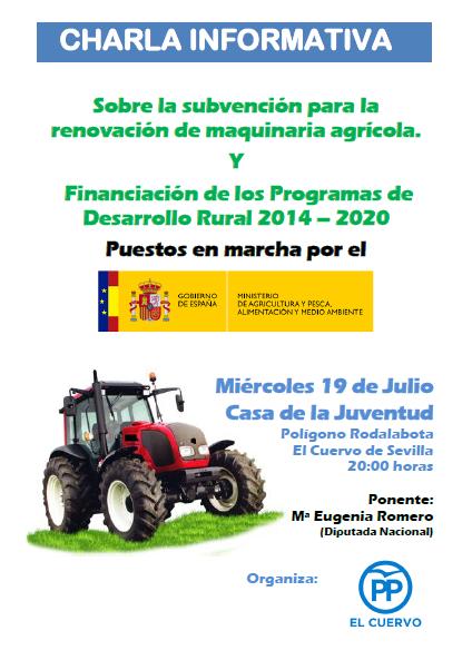 Charla Informativa para Agricultores y Ganaderos