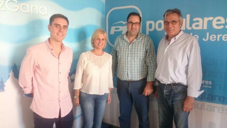 El PP de Jerez y El Cuervo hacen frente común para exigir a la Junta que cumpla con el Plan de Gestión de la Laguna de Los Tollos