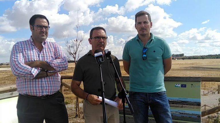 El PP pide a la Junta que dote de partida el Plan de Gestión de la Laguna de Los Tollos que aprobó en Enero.