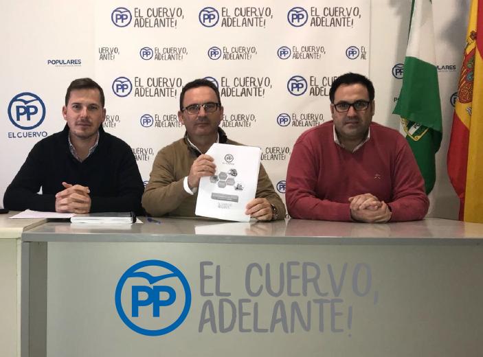 Los Populares presentan un informe del estado de los parques infantiles del municipio, para que el gobierno actúe y garantice la seguridad de los más pequeños.