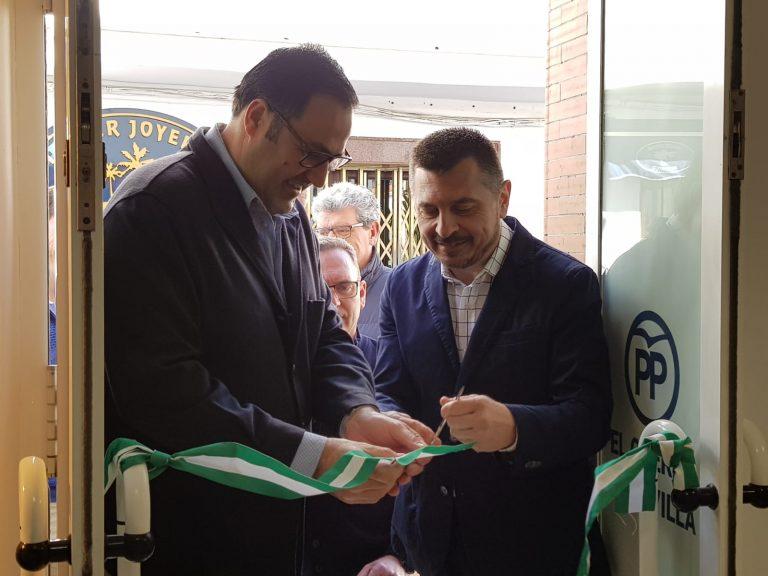 Inaugurada la nueva sede del PP de El Cuervo y Oficina de Atención al Ciudadano