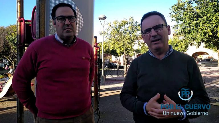 El PP de El Cuervo continúa con la campaña barrio a barrio y visita la zona de Bajo Guía