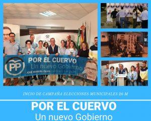 Inicio de Campaña PP El Cuervo de Sevilla 2019