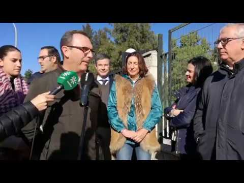 Loles López resalta los compromisos con inversiones reales del Gobierno de Juanma Moreno con El Cuervo de Sevilla