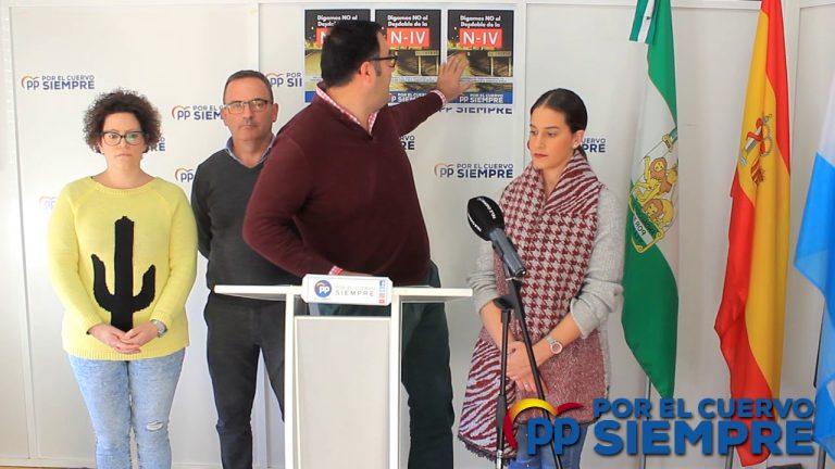 El Alcalde de El Cuervo niega la celebración de un pleno extraordinario solicitado por el PP para llegar a acuerdos sobre la negativa a la continuidad del desdoble de la N-IV