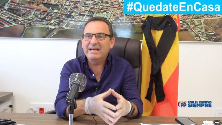 El PP analiza los cuarenta días de pandemia en El Cuervo de Sevilla