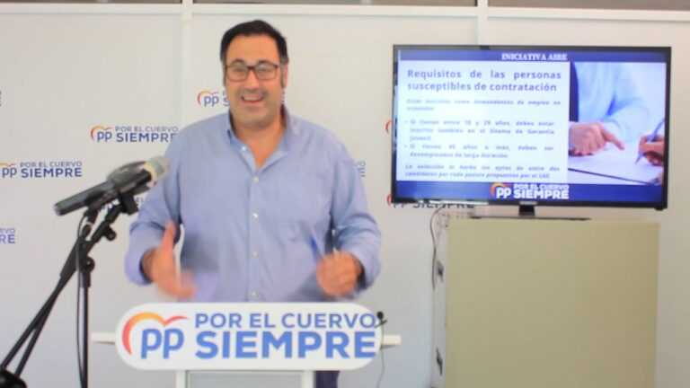 La Junta pone en marcha la Iniciativa AIRE que destinará a El Cuervo 141.465,16 € para la contratación de desempleados