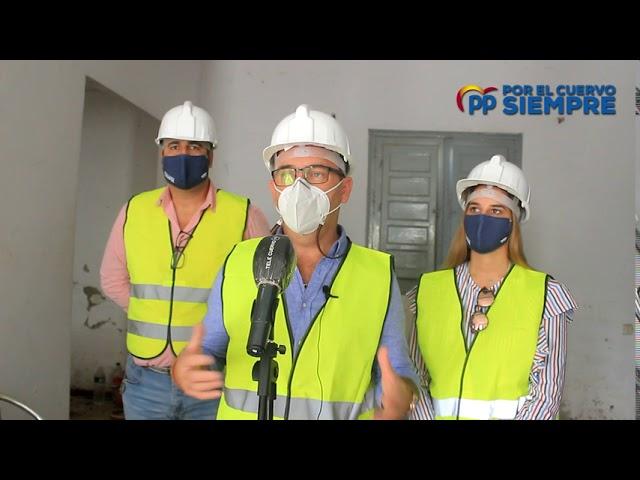 Los Populares solicitan de forma urgente labores que eviten más el deterioro del edificio de la antigua Tenencia de Alcaldía