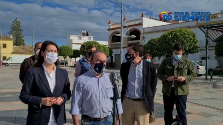 El PP reivindica en El Cuervo la defensa de los agricultores y ganaderos de nuestra tierra y rechaza la posición del gobierno socialista ante el nuevo decreto de la PAC.